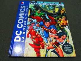 LIBRO DC COMICS LA HISTORIA VISUAL, DE COLECCION.