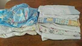Juegos de sábanas para cuna(combo)