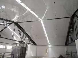 Realizamos cielos razos en PVC