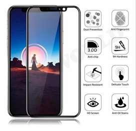 Mica Vidrio Templado Huawei Y6 2019 Y6 Pro Y6s Y7p Completa