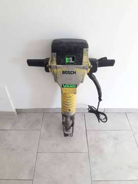 Martillo Rompepavimento Demoledor Bosch 1900w Gsh27 Amarillo