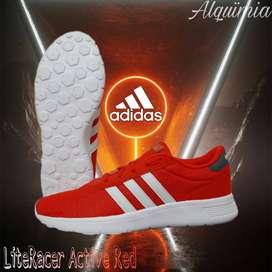 Adidas: Tenis Lite Racer Active Red