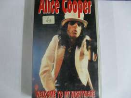 VHS Alice Cooper