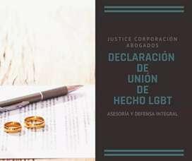 Abogados Loja Justice Corp. DECLARACIÓN DE UNION DE HECHO