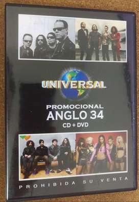 CD + DVD Anglo 34
