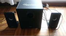 Parlantes tipo home theater