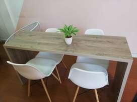 Juego sillas y mesas para manicure - GRAN OPORTUNIDAD