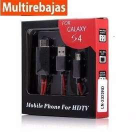 Cable Adaptador Micro Usb A Hdmi Samsung Galaxy S3/s4/note 2 multirebajas