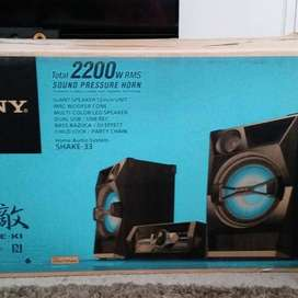 EQUIPO DE SONIDO - SONY - Home Audio System, Shake 33