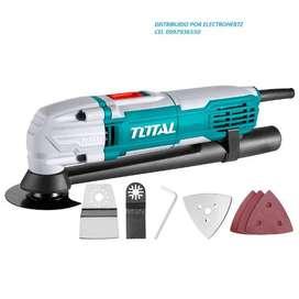 Multiherramienta Oscilante Total 20v, Inc Batería Y Cargador
