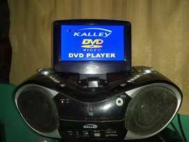 grabadora dvd con monitor