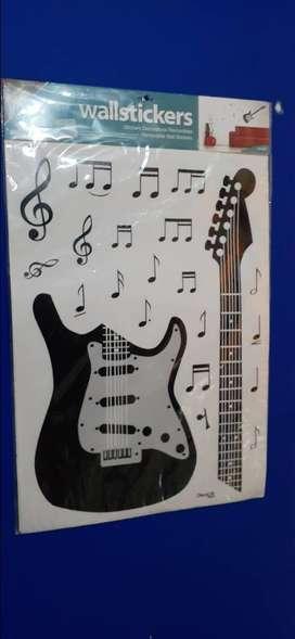 Wall sticker Guitarra