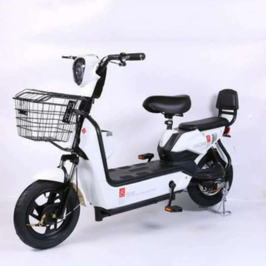 Motocicleta Electrica 500W 0
