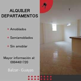 Alquiler de Departamentos - Balzar, Guayas (Ecuador)