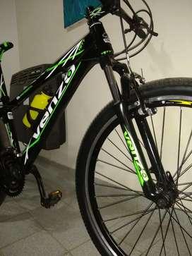 Vendo o permuto bicicleta venzo yety