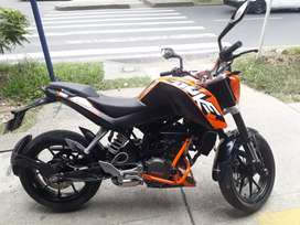 Se vende KTM Duke 200 exelente estado