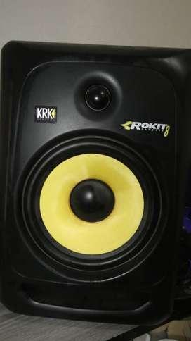 Monitores de Estudio KRK Rokit 8