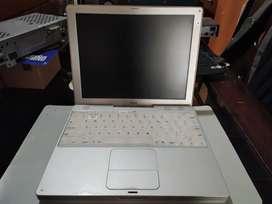 Portátil iBook para repuestos