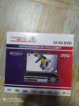 dvd nuevo con garantia 3 meses $75.000