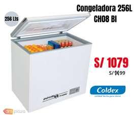 CONGELADOR COLDEX CH08 256L BLANCO-NUEVO