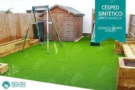 Césped artificial sintético decorativo Instalación para jardines