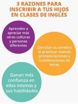 Clases de inglés para jóvenes y niños