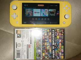 Vendo nintendo switch lite