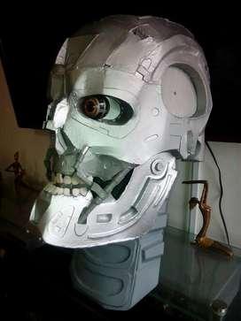Cabeza de Terminator