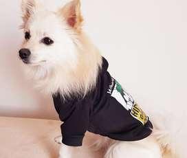 Saco con capota para perro