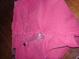 jeans rojo talle 40