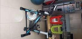 Bicicleta spinning top fit spinbike estática Corleone 18kg
