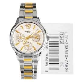 Reloj Casio Dama Ltp 2085sg 7avdf Nuevo
