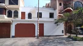 Alquilo casa en la Molina frente a parque las Américas, 4 habitaciones amplias.