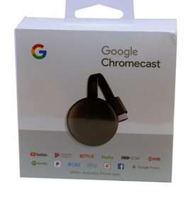 Google Chromecast 3 Apple Android Tv