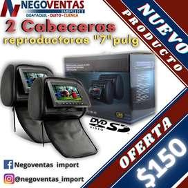 CABECERAS REPRODUTORAS DE 7 PULGADAS CD DVD