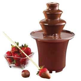 Mini Fuente De Chocolate Fondue Fountain 3 Niveles