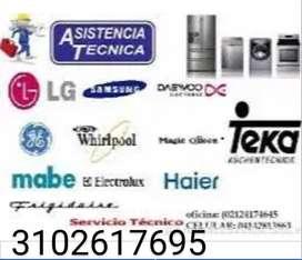 Servicio técnico de reparación de neveras y lavadoras Villavicencio