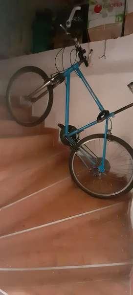 Bicicleta marco Grande, Cicla suspension de las antiguas y cambios shimano