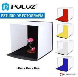 Softbox para fotos Estudio de fotografía 40x40cm