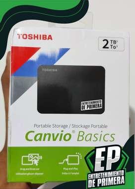Disco Duro externo 2TB USB 3.0 TOSHIBA
