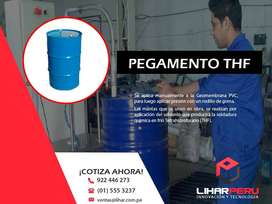 Pegamento THF Para Geomembrana PVC , Geotextil , Tuberías