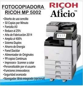 Fotocopiadora RICOH Aficio MP5002