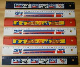 Pepsi Reglas Vintage Alemanas Originales