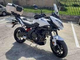 Kawasaki Versys 650 Abs Blanca