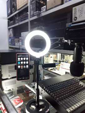Aro de la LED para streaming