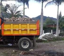 Servicio de alquiler de volqueta y materiales de cantera