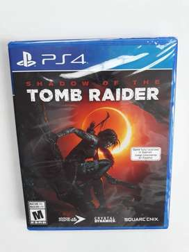 SHADOW OF TOMB RAIDER PS4 NUEVO SELLADO