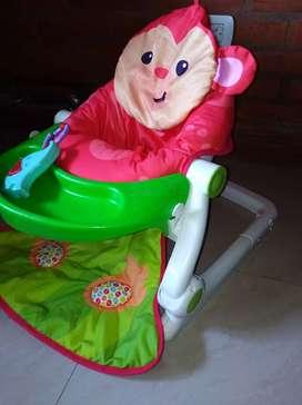 Sillita para bebe practica liviana y muy cómoda