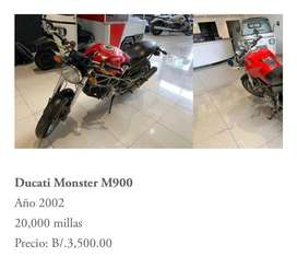 Se vende Ducati Monster M900