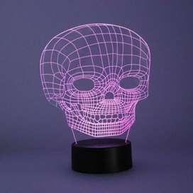 Lámparas personalizadas en 3D
